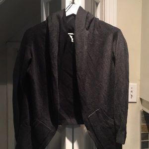 Lululemon dark gray  double sided sweater size 6